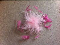 Ladies Wedding, Races, Formal Occasion Pink Fascinator