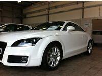 White Audi TT Quattro