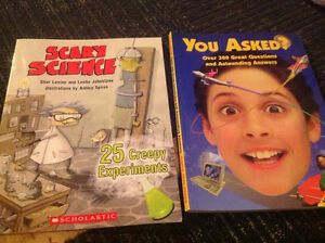 Two Brand New Science Books..great gift for little scientists
