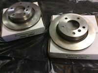 Brand new rear rotors. BMW E 36