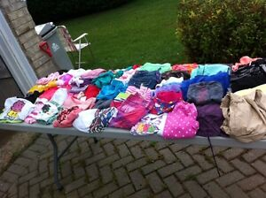 Girls and boys clothes and shoes