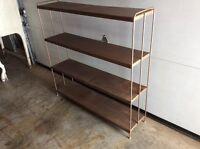 For sale nice steel shelf nice for room or garage asking 20$
