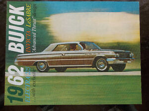 1962 Buick dealer showroom catalog