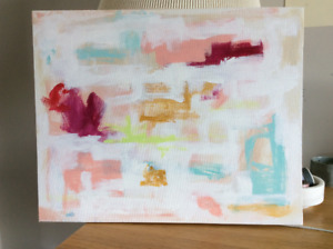 Original  Painting on Canvas - Abstract
