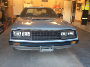 1982 MUSTANG GL 5 Litre  (H.O.)    FINAL REDUCTION