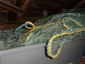 HERRING FALL & SPRING NETS & OTHER FISHING EQUIPMENT