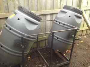 Double Composter - Rotation with Stand