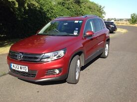 VW TIGUAN (170 BHP) SPORT 4WD - ONLY 46k miles. New MOT and Serviced
