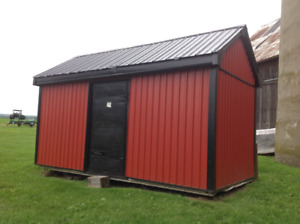 Steel Shed, or Great Start for a Tiny House or Bunky