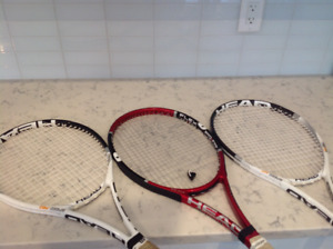 Head Professional Tennis Racquets