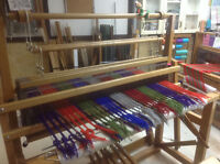 Learn to weave cloth on a traditional loom
