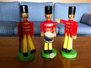 Alberta-crafted Wooden Soldiers (complete set)