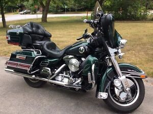 1997 HARLEY DAVIDSON ULTRA CLASSIC FLHT in excellent condition
