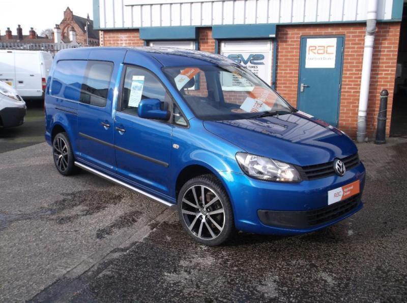 2011 61 Volkswagen Caddy Maxi Kombi Crew Van 18 Alloys
