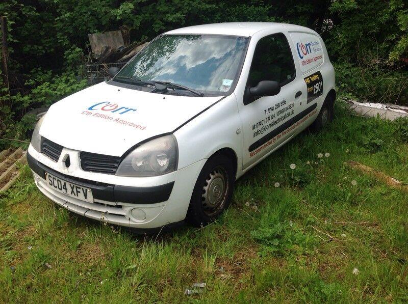 CLIO 1500cc diesel van spares