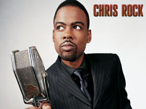 CHRIS ROCK in TO is for you - 8TH ROW LOWER BOWL AISLE seats