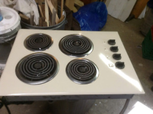 counter stove