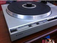 Trio record deck / Shure head + Trio Stereo receiver
