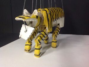 Tiger Marionette or Puppet Decoration