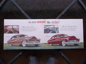 1949 Mercury dealer showroom folder London Ontario image 3