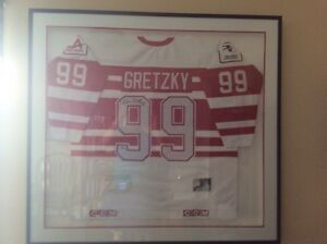 Rare Wayne Gretzky Authentic Game Jersey