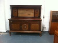 Antique Sideboard : can deliver Glasgow