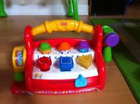 Coffre à outil Fisher Price