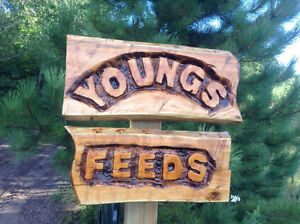 Young's feeds and tack !