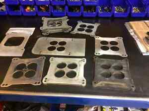 BBC SBC carb spacers and gaskets