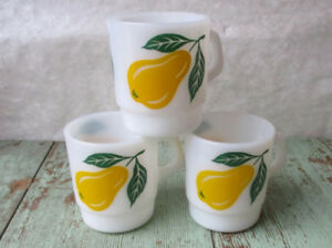 tasse à café mugs vintage Fire King , Pyrex et autres