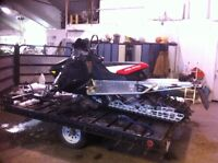 2 place sled or atv trailer