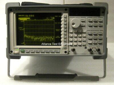 Agilent Hp 35670a Fft Dynamic Signal Analyzer Opt 1d2 Ay2 6 Month Warr