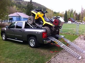 Haul Your Quad and Tow a Trailer!