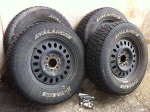 Winter tire package for gm truck 245/65R17