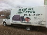 Garbage Removals 902-561-5865