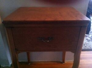 Beautiful Vintage Sewing Table repurposed for Entrance Table Belleville Belleville Area image 2