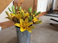 Asiatic lily bouquets