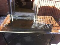 Wrought iron dining table - free local drop off