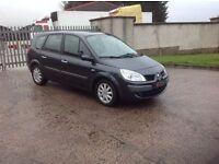 24/7 Trade sales NI Trade Prices for the public 2008 Renault Grand Scenic 1.6 7 seater Black