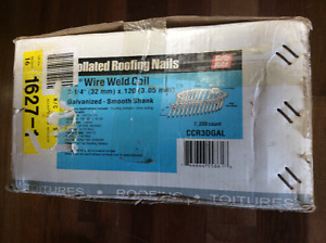 "1 1/4"" collated roofing/siding nails Unopened Box"