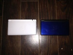 Selling two DS Lites. One is like new. Other has some wear...