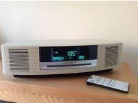 Bose Wave CD AWRCC6 Music System + Multi CD Changer - Ivory/Off White - Bargain.
