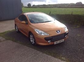 2006 Peugeot 307 CC 1.6 S convertible very low miles 42.000 motd August 17