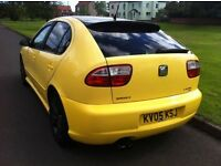 2005 SEAT LEON FR 1.9 TDI 150 BHP 6 SPEED *JUST REDUCED BY 500*