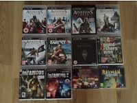 PlayStation 3 Games (£3 each)
