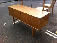 1970s Danish looking sideboard / mirrored dresser