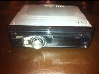 Jvc car stereo, cd mp3 with aux input