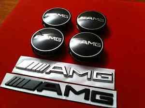 Wheel Centre Caps for Mercedes Benz - 75mm - Set of 4 - NEW Kitchener / Waterloo Kitchener Area image 6