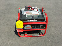 HOMELITE 1400W ( 1750W ) POWER GENERATOR - NEVER USED!