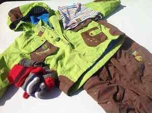 Manteau et pantalon printemps-automne pour garçon 2T